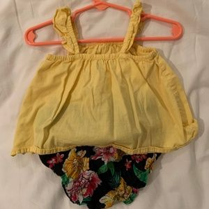 Old Navy Baby Top and Diaper Cover